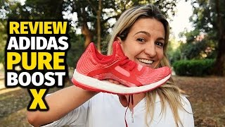 adidas pure boost x review pt br