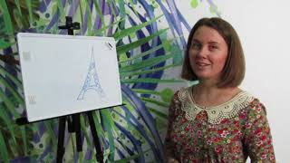 Видеоуроки по рисованию светом на планшете Грои Света Урок 8 Дети 7-10 лет