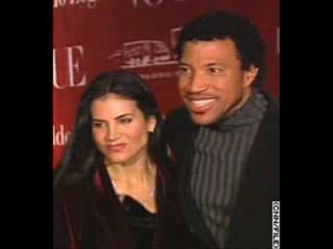 Lionel and Diane Richie