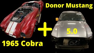 Fire Damage 1965 Cobra + Mustang 5.0 Donor Parts Car Part 4