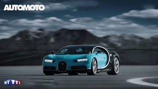 Ecoutez le bruit de la Bugatti Chiron !