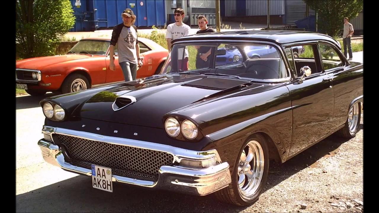 oldtimer muscle car show classic car antique. Black Bedroom Furniture Sets. Home Design Ideas