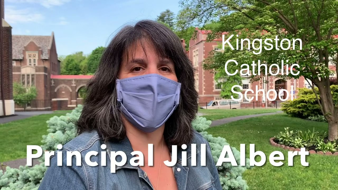 Kingston Catholic School (Principal Jill Albert talks about Peter Pan, Jr.)