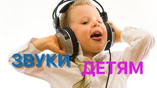 Видео детям звуки
