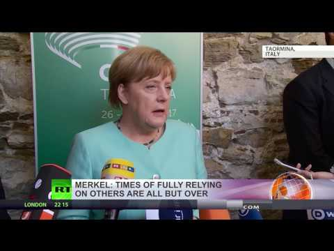 Thumbnail: Europe's dependence on allies is over – Merkel