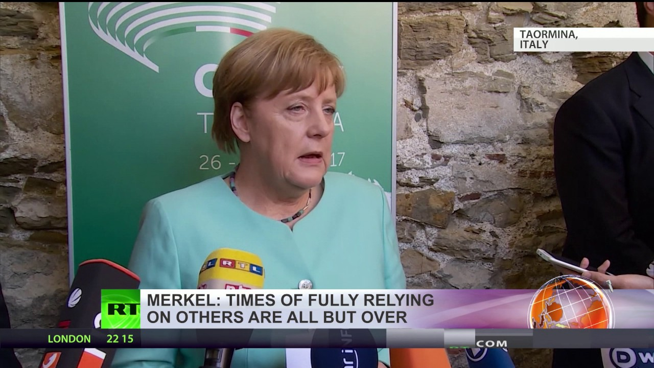 'Europe's dependence on allies are over, we have to fight for our future ourselves' – Merkel