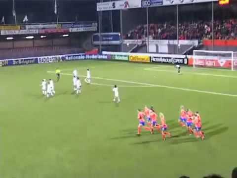 Vrouwenvoetbal Doelpunten vrouwen Nederland Spanje nederland spanje