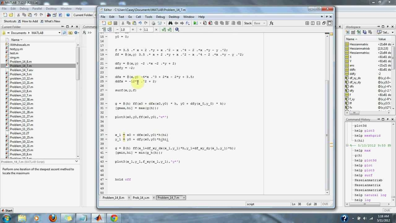 Numerical Methods Problem 14 7