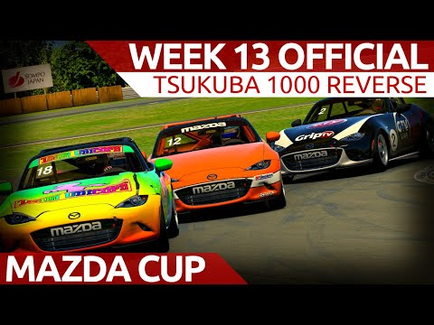 Week 13 Official Mazda Race