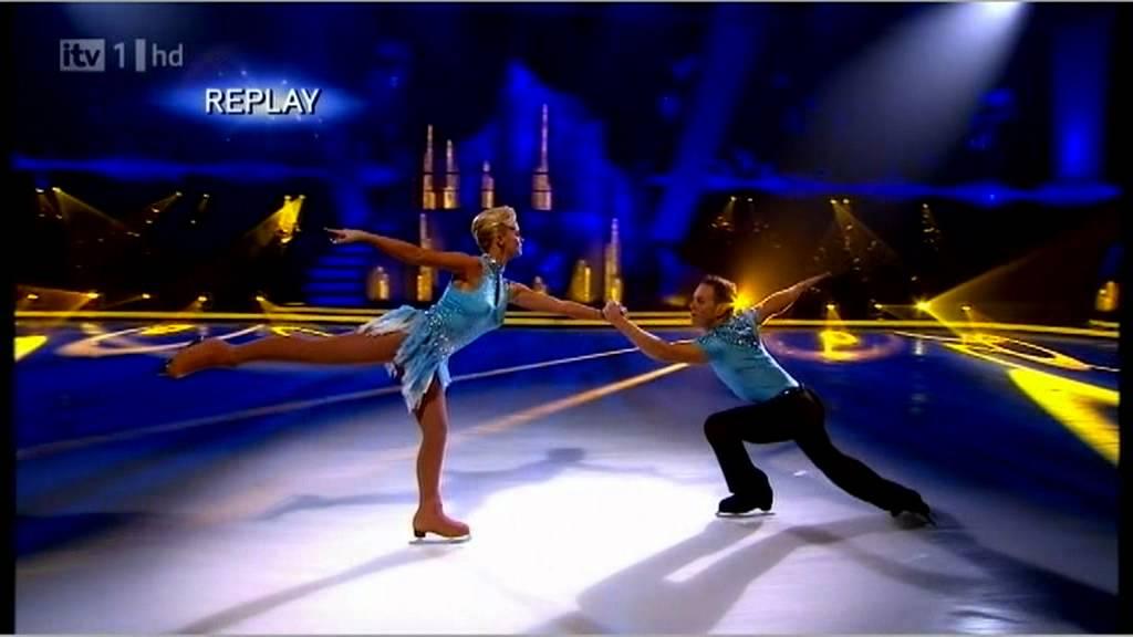 Kerry Katona & Daniel Whiston Dancing On Ice Week 1