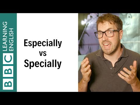 Especially vs specially - English In A Minute