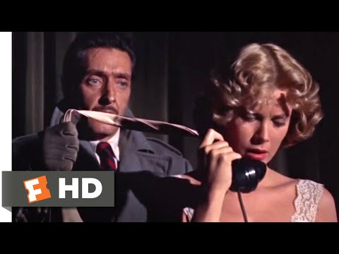 "Dial M For Murder (1954) - Dialing ""M"" For Murder Scene (4/10) 