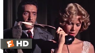 """Dial M for Murder (1954) - Dialing """"M"""" for Murder Scene (4/10) 