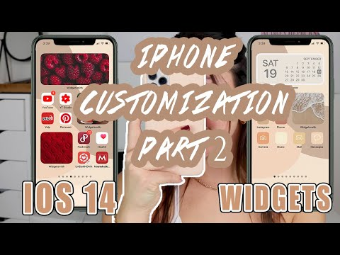 Ios 14 How To Customize Your Iphone Widgets Part 2 Youtube