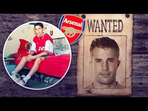 Why is Robin van Persie so hated by Arsenal fans? - Oh My Goal