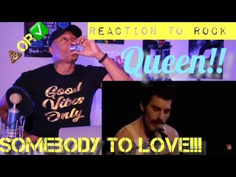 First Reaction To Rock Music Queen Somebody To Love Live Trash Or Pass Youtube