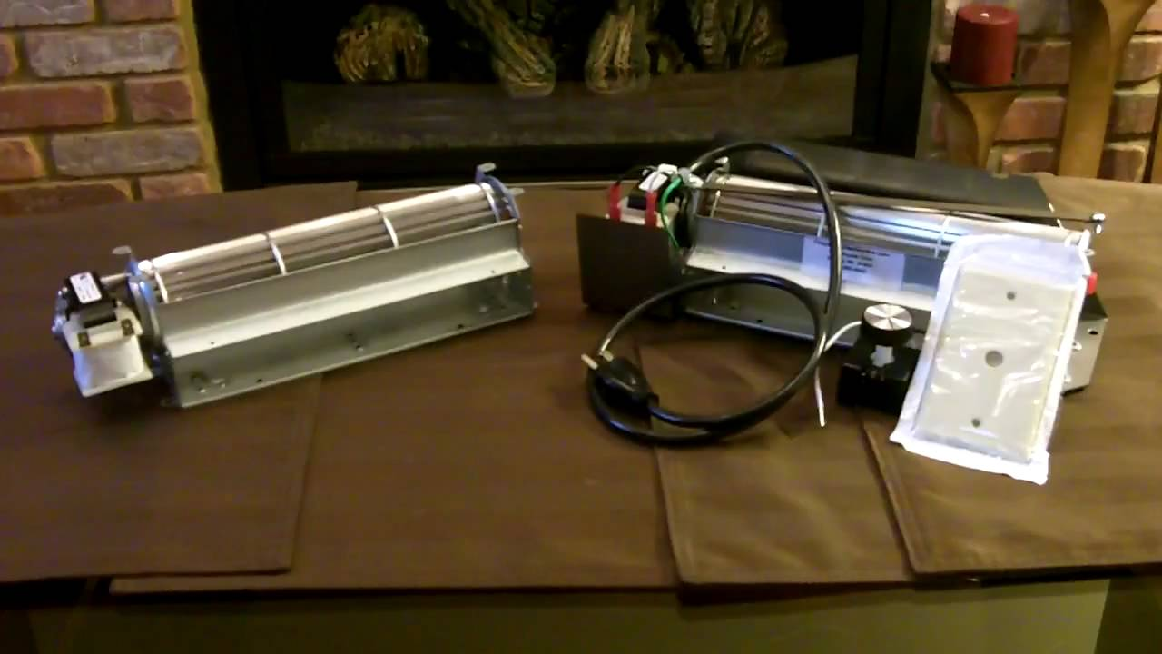 replacement fireplace blower vs fireplace blower kit youtube