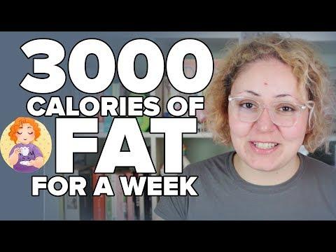 3000 calories of FAT for a WEEK - Do calories matter on Keto? Calories in calories out myth Fat Fast