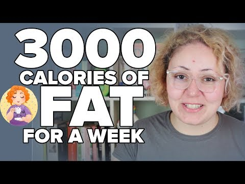 3000 calories of FAT for a WEEK Fat Fast Creamstravaganza Calories on Keto experiment