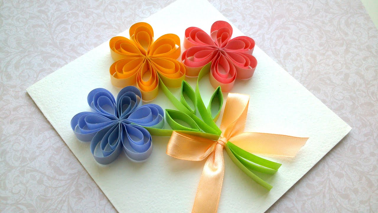 How to Make a Beautiful Card, Mother's Day card, Wedding ...