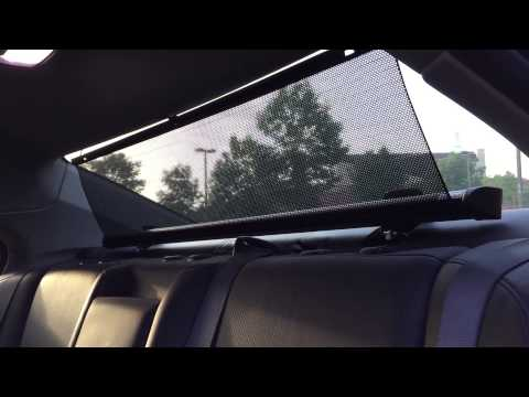 Shade Styx Review- Aftermarket Rear Car Sunshade - YouTube