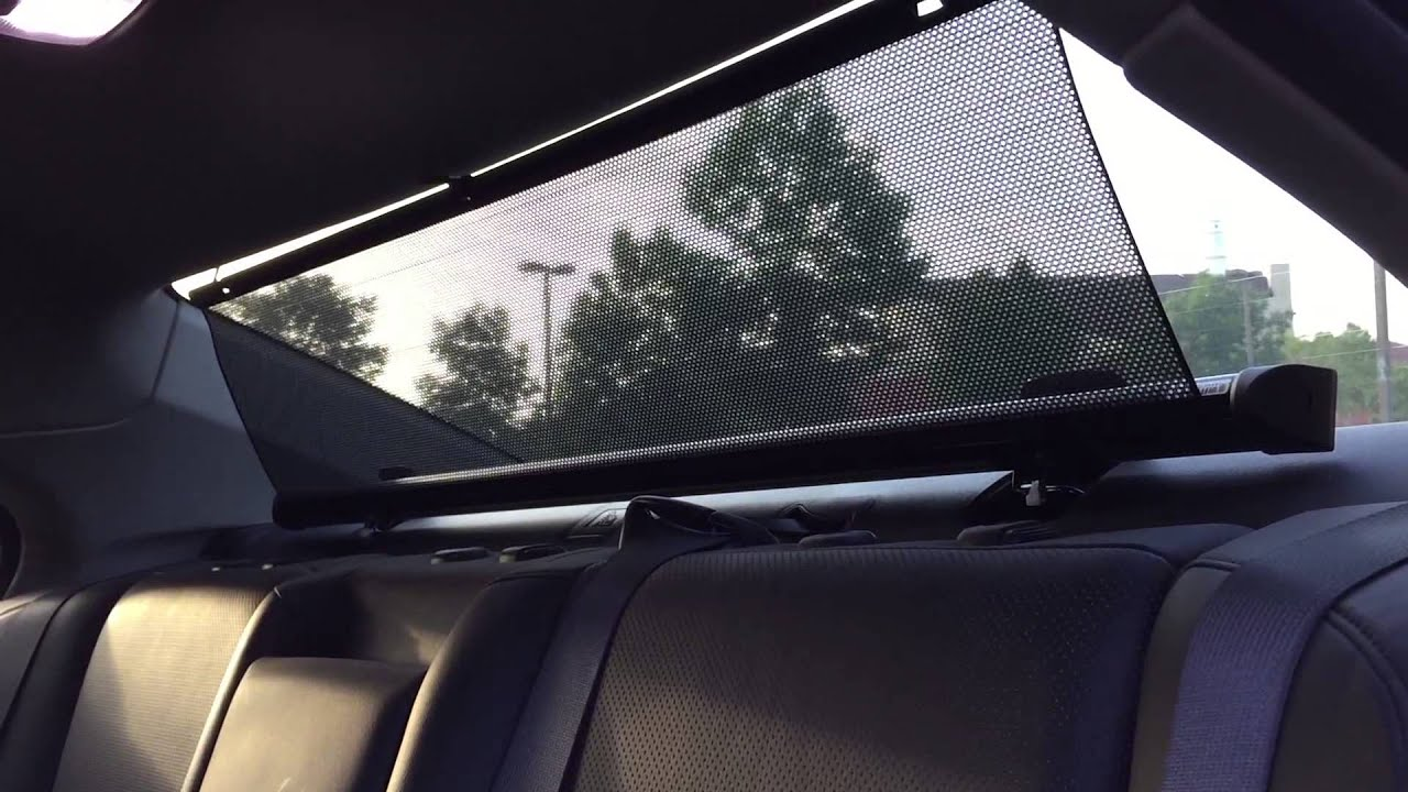 Electric Car Window Shades