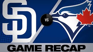 5/25/19: Padres' bats run wild in blowout of Jays