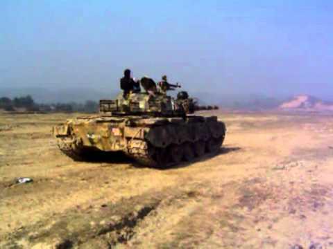 bangladesh army t 55 tank firing