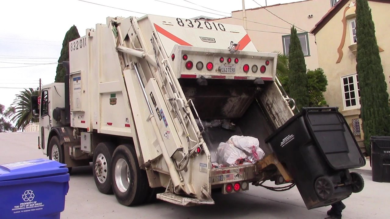 Used Trucks San Diego >> Garbage Trucks of the City of San Diego - CCC LET2 ...