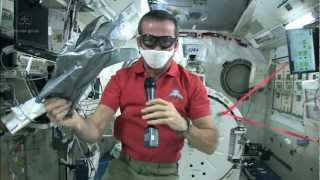 Chris Hadfield gets tough on Space Station spills