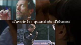 Foule sentimentale -  Alain Souchon - ☺ Dr House MD ☺ - lyrics on screen