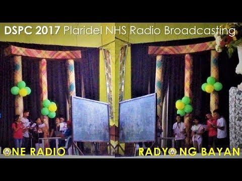 Plaridel NHS Radio Broadcasting English & Filipino (Division School's Press Conference 2017)
