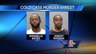 Pair arrested in cold case murder