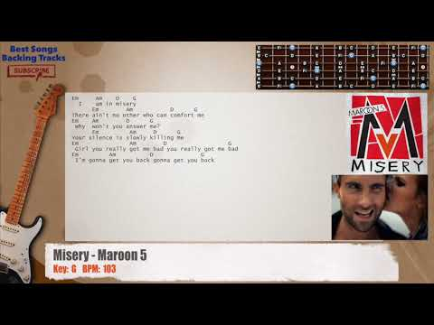 Awesome Misery Chords Pattern Beginner Guitar Piano Chords Zhpffo