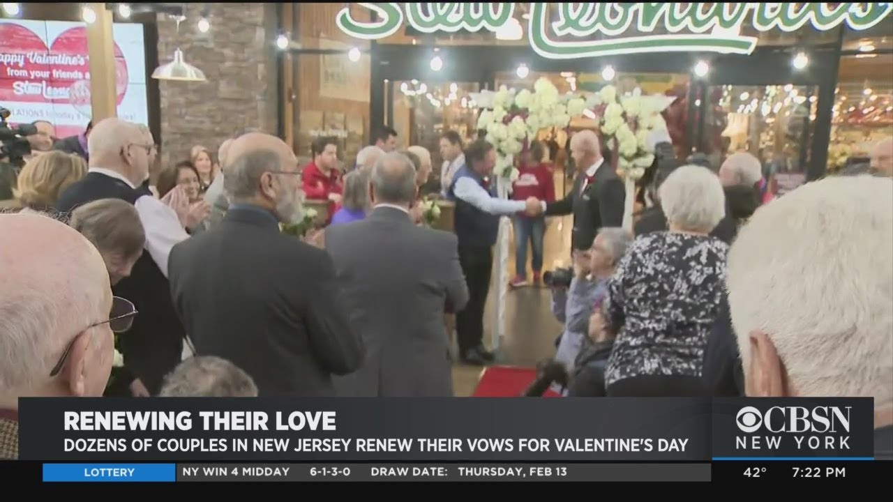South Jersey couples renew their vows on Valentine's Day