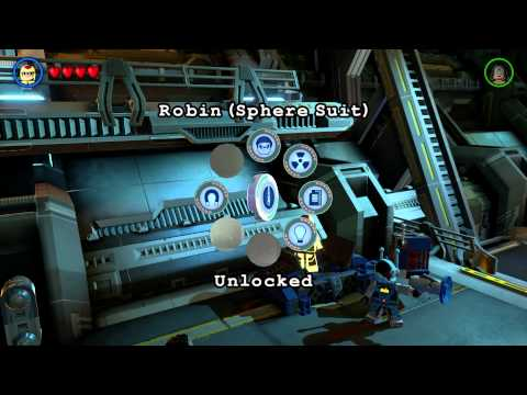Lego Batman 3 The Hanger