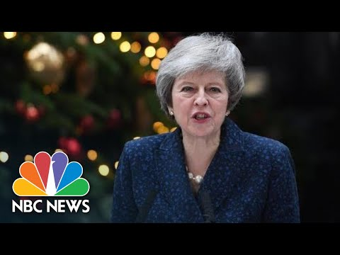 British PM May Vows To Fight For Her Job As Colleagues Try To Oust Her Over Brexit | NBC News
