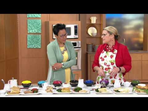Yes Chef! Set Of 3 Grill, Griddle & Waffle Mini Makers On QVC
