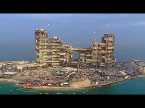 The Royal Atlantis Residences – December 2019 Drone Video
