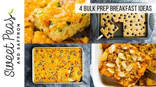 SANITY SAVING Bulk Prep Breakfasts