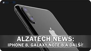AlzaTech News #06: iPhone 8, Galaxy Note 8, VR batůžek od HP a další!