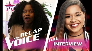 Brooke Simpson Recaps Her AMAZING Win in 'The Voice Battles' | The Voice 2017