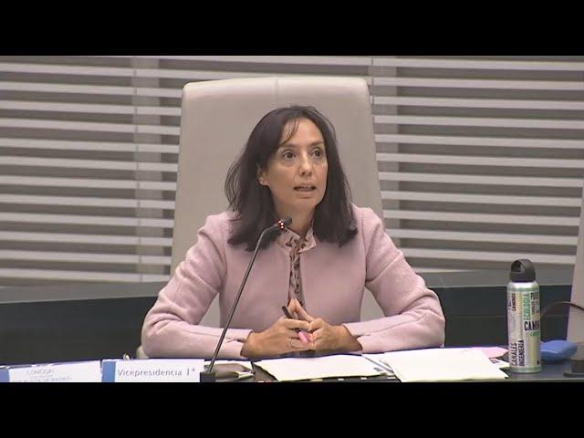 """Mercedes González: """"Han puesto en marcha cuatro medidas de las 92 de los Acuerdos de la Villa"""""""