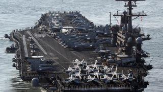 North Korea warns US over deploying aircraft carrier