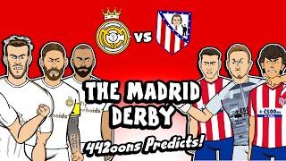 Real Madrid vs Atleti - Prediction! (Derby 2020 442oons Highlights Goals)