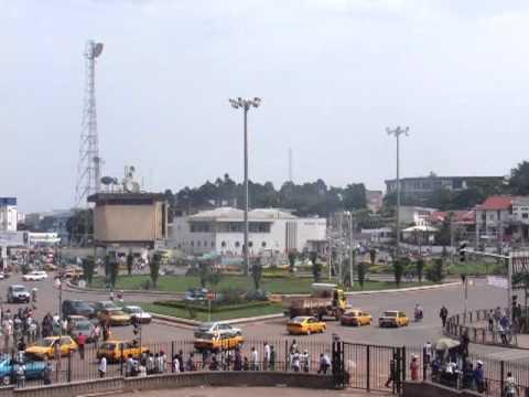 1252 Street swirl of Yaounde, Cameroon