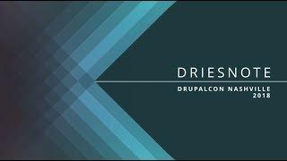 DrupalCon Nashville 2018: Driesnote thumbnail