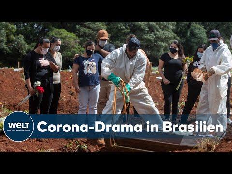 CORONA-HÖCHSTWERTE IN BRASILIEN: Präsident Bolsonaro verweigert weiter Corona-Maßnahmen