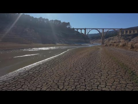 Spain's Tagus river is drying up