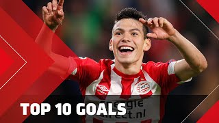 TOP 10 GOALS | Hirving Lozano